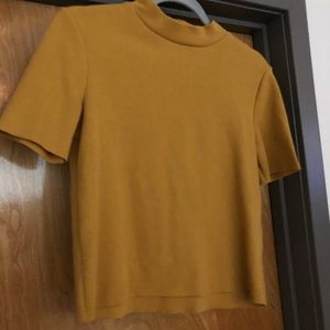 Yellow Zara Top